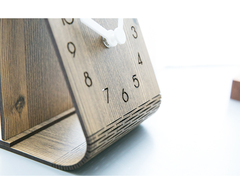 clock retro clock with time projection clock vintage automobile clock alarm clock bedroom clock clock flip watch table table clock vintage table clocks office decoration (9)