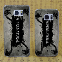 B1710 Horror Tv Show Supernatural Logo Transparent Hard PC Case Cover For Samsung Galaxy S 3 4 5 6 7 Mini Edge Plus Note 3 4 5 7