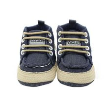 Fashion Baby Boys Winter Infant Toddler Boy Soft Soled Shoes Boots Booty Handsome High Top Shoes(China)