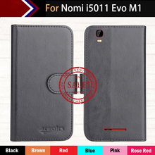 "Factory Direct! Nomi i5011 Evo M1 5"" Case 6 Colors Dedicated Ultra-thin Leather Exclusive Special Phone Cover Cases+Tracking"