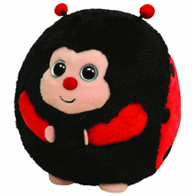 "Ty Beanie Ballz 15"" 38cm Dots Ladybug Plush Large Stuffed Animal Collectible Soft Big Eyes Doll Toy"
