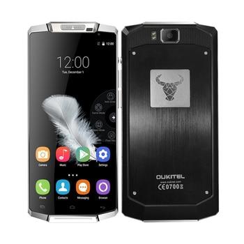 Oukitel K10000 Smartphone 5.5 pouce Quad Core Android 5.1 Téléphone portable MTK6735P 2 GB RAM 16 GB ROM 10000 mAh 4G FDD LTE Mobile Téléphone