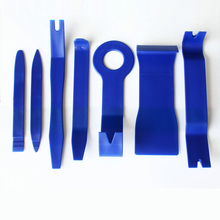 7Pcs Auto Car Radio Panel Interior Door Clip Panel Pry Tool Trim Dashboard Removal Opening Tool Set Diy Car Repair Tool Pry Kit
