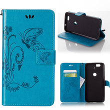 Embossed Butterfly PU Leather Mobile Phone Case For Huawei Nexus 6P Nexus6P American/Global model Housing Wallet Cover Bag Shell