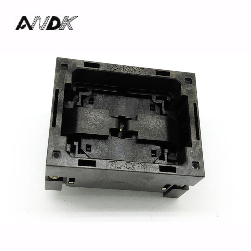 QFN16 MLF16 Burn in Socket IC Test Socket NP506-016-027-C-G Pitch 0.5mm Chip Size 3*3 Flash Adapter Open Top Programming Socket<br>