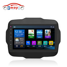 "Bway 10.2"" car radio for Jeep Renegade android 4.4 car dvd player with bluetooth,SWC,wifi,Mirror link,support DVR"