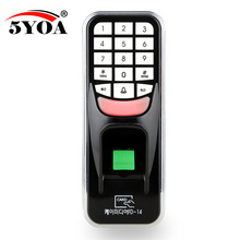 5YOA BM1FY Fingerprint Password Key Lock Access Control Machine Biometric Electronic Door Lock RFID Reader Scanner System