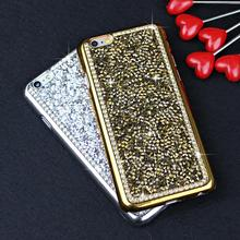Luxury Brand Bling Rhinestone Diamond Back Cover Crystal Hard Case For iPhone 6 6s Plus Phone Case For iPhone 6s 6 5 5s SE Bag