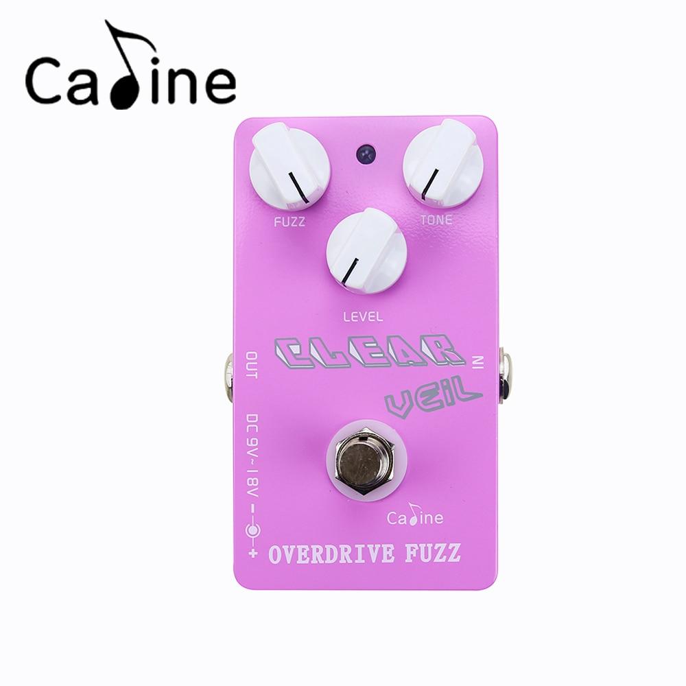 Caline CP-32 OVERDRIVE FUZZ Guitar Pedal Caline Effect Pedal Guitar Part<br><br>Aliexpress