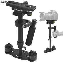 Buy ASHANKS Aluminum alloy S40/S60 Stabilizer Handheld Gimbal Stabilizers Canon Nikon Sony DSLR Camera Video DV Camcorder gopro for $46.99 in AliExpress store