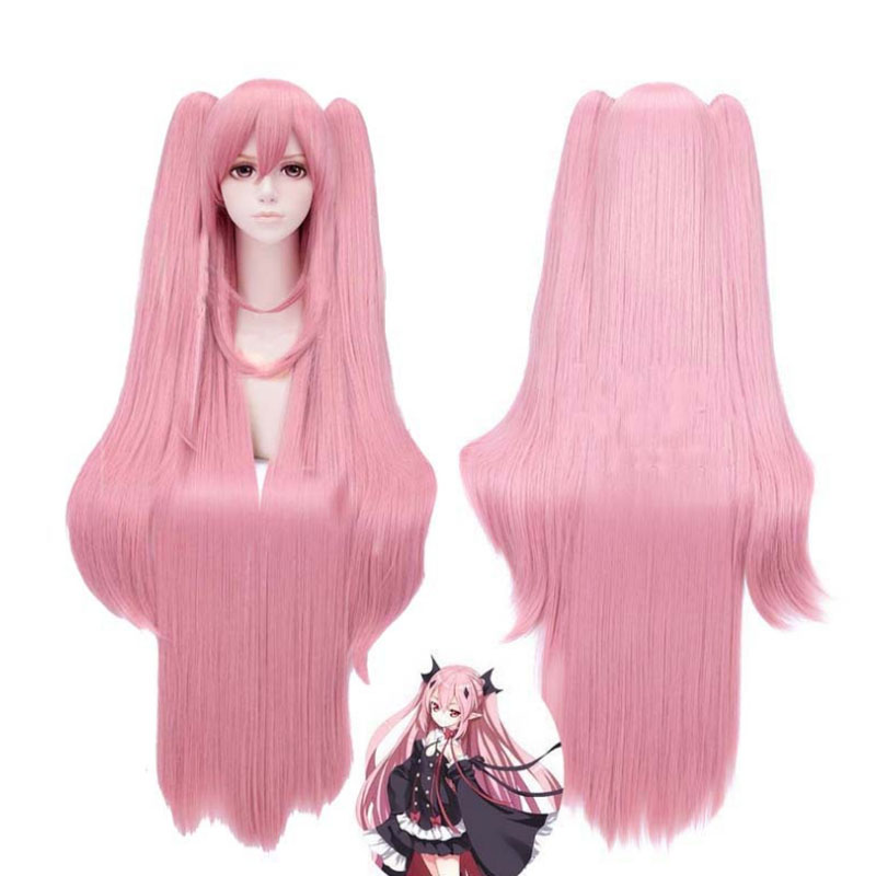 Coshome Owari No Seraph Of The End Krul Tepes Wigs Cosplay Costumes Lolita Dress Vampire Uniforms For Halloween Party (3)