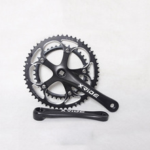 Buy Mountain Bike CNC Crankset 8/9/10 Speed Crank Set 53-39T MTB Bicycle Chainwheel Sprocket 170MM Chainring Bike Parts for $45.00 in AliExpress store
