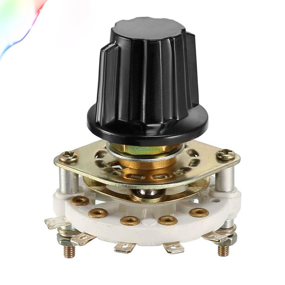 2P4T 2 Pole 4 Position 1 Deck 10-Pin Band Kanal Drehschalter