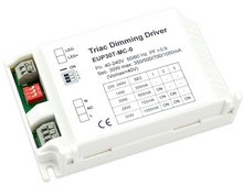 30W dimmable LED driver DIP selectable constant current 350ma 500mA 700mA 1050mA with Triac Dimming (leading & trailing edge)