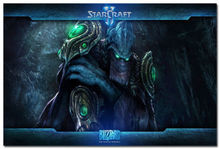 J2647- StarCraft 2 Hot Game Pop 14x21 24x36 Inches Silk Art Poster Top Fabric Print Home Wall Decor