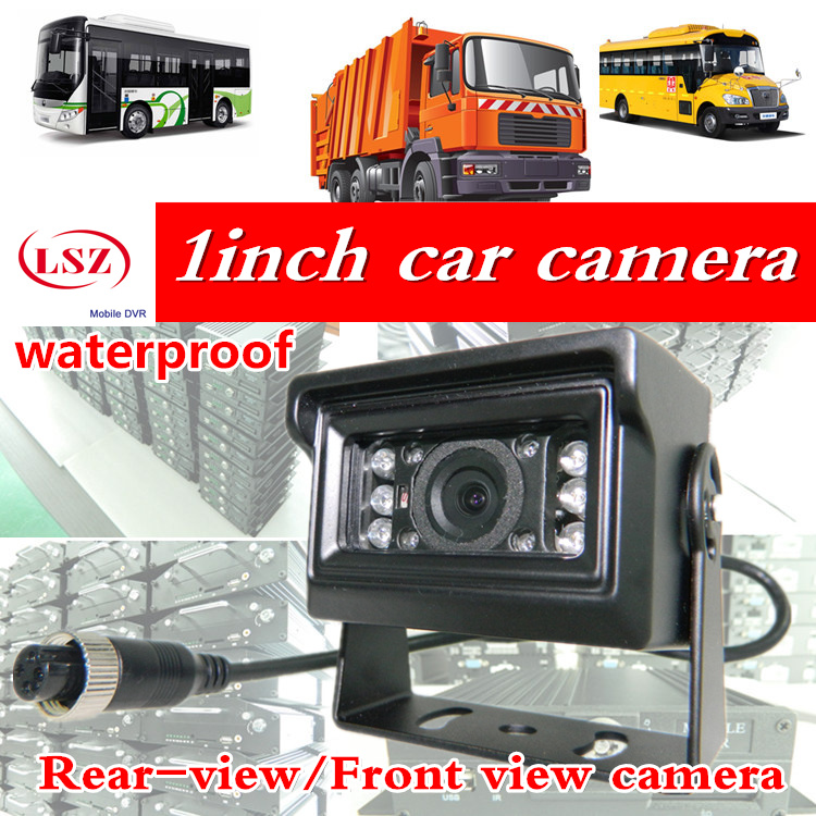 LSZ HD CCD Car Rear View Camera Reverse backup Camera rearview parking 120 Degree  Nightvision Waterproof Bus Truck Camera <br>