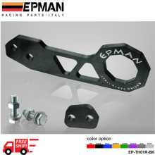 EPMAN Racing Rear Tow Hook FIT FOR HONDA CIVIC Integra RSX with EPMAN logo eight  Color Option EP-TH01R-FS