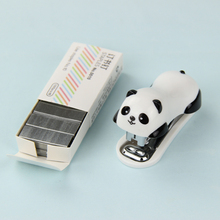 1 Set Kawaii Mini Stationery Stapler Set Office Accessories Book Paper Binding Student Learning Supplies(China)