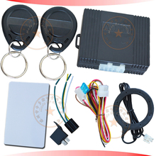 car transponder alarm system rfid arm or disarm engine 30 seconds auto anti-theft function illegal start alarm