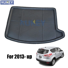 Fit For 2013 2014 2015 2016 2017 Ford Escape Kuga 3d Boot Mat Rear Trunk Liner Cargo Floor Tray Carpet Mud Kick Protector Cover(China)