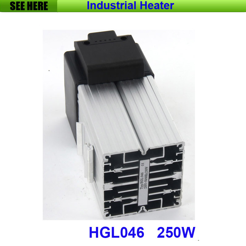 High Performance 250w Small Compact Industrial Fan Heater HGL046<br>