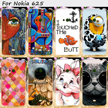 22 Styles Cell Phone Bags and Cases For Nokia Lumia 625 N625 625H 4.7 inch Cases Anti-Knock Hard Plastic Shield Smartphone Shell