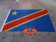 Congo national flag,100% polyster,120*180CM,Anti-UV,Digital Printing,flag king,Congo country banner