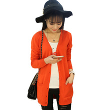 Autumn fashion women Cardigan sweater 2017 new style Casual knitted cardigan Black Cardigan Sweater Women 16 colors optional