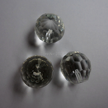 20mm Clear with 48 faced crystal ball for optical fiber chandelier/curtain Pendants