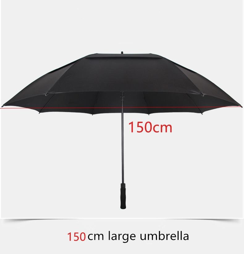 NX Creative Large double layer golf umbrella 145cm to 150cm umbrella men windproof strong long umbrellas for men business (5)