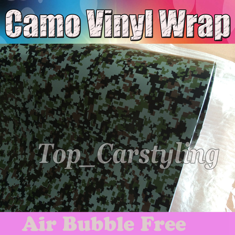digital camouflage vinyl car wrapping film with air free (2)