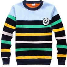 (1piece /lot)cotton 2016 winter Warm Sweater (120-150cm) 6-9 year old baby boy Sweaters