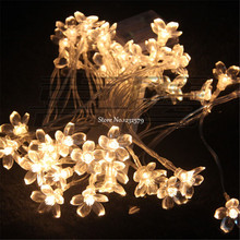 30M 300 LED Fairy String Lights Cherry Blossoms Flower Christmas Wedding Decor luminarias lamps Garland Luces Decorativas