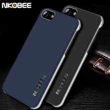 NKOBEE Coque Case For iPhone 6S 7 7 Plus Case Leather Luxury Hard Back Cover Fundas Case For iPhone 6 6 S Plus Accessories(China)