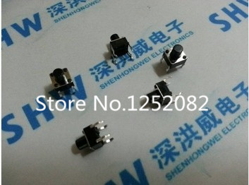 1000PCS Push Button Switches 6*6*4.3MM 6mm*6mm*4.3mm DIP-4 Tactile Switches Push Button Tact Switch 6x6x4.3mm<br><br>Aliexpress