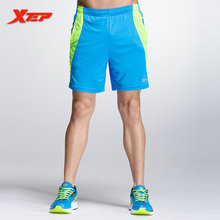 XTEP Mens Sexy Running Shorts Men Running Sport Athletic Short in Polyester Table Tennis Shorts Marathon Shorts 884229609213(China)