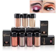 Buy 12 Colors Glitter Eye Shadow Cosmetic Makeup Diamond Lips Loose Makeup Eyes Pigment Powder Woman Cosmetics for $1.22 in AliExpress store