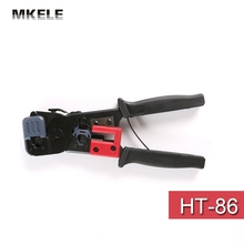 High Quality HT-86 Crimping Network Pliers Telephone Telecommunications Connector Hand Tools China(China)