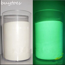 White color Luminous powder phosphor powder 100g/bag,decorating material,Glow Powder Paint Glow Green light.