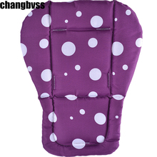 Infant Stroller Seat Cushion,Multi Color Baby Cushion,Fashion Baby Carriage Cushion,Newborn Baby Stroller Pad Car Seat Mattress(China)
