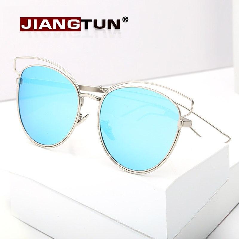 JIANGTUN Metal Hollow Cat Eye Polarized Sunglasses Women Sexy Brand Designer Sun Glasses Vintage Mirror  Eyewear UV400 Feminino<br><br>Aliexpress