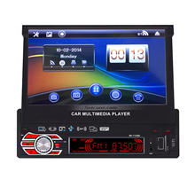 Seicane 7'' WINCE 6.0 1 Din Car Audio DVD Player Radio GPS with Bluetooth Aux camera SD USB RDS  Steering Wheel Controls IPod