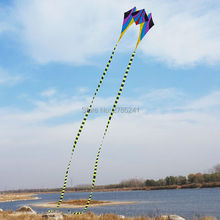 HOT sale 5ft frog Single Line Delta Kite Colorful Outdoor sports toy Easy to fly for kids long tail