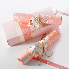 10pcs/Lot Wedding Invitations Box Elegant Card Rope Scroll Wedding Invitations Favor Festival Event & Party Supplies Best Gifts(China)