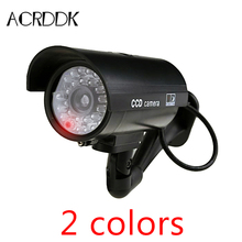 Outdoor surveillance Fake IP camera  Indoor Surveillance Security Camera Dummy Night CAM LED Light  safe home FC