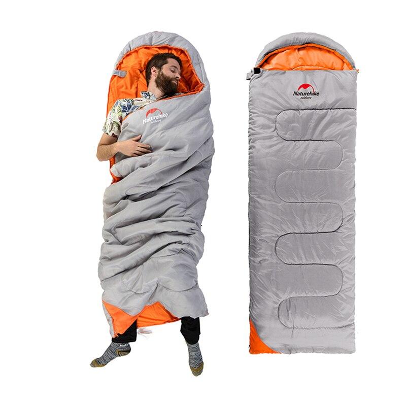Naturehike Single Spring &amp; Autumn down camping sleeping bag liner hiking High Elastic envelope type Outdoor Travel Supplies <br>