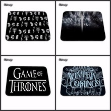 New Print Gaming Mousepads Cheap Game of Thrones GTA Anti-Slip Laptop PC Mice Pad Mat for Optical Laser Mouse Drop Shipping