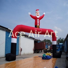 inflatable Christmas event decoration inflatable Santa Claus arch
