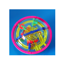 13cm 3D Magic Intellect Ball Marble Puzzle Game perplexus magnetic balls IQ Balance toy Educational classic toys Maze Ball(China)