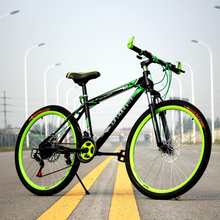 26 Inch Non-folding Bike Aluminium Frame Mountain Bike Bicycles 21 Speed Disc Brakes Unisex MTB Bikes 3 Colors Couple Bicycle(China (Mainland))